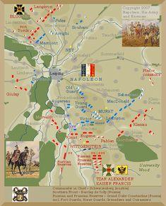 Map Of Battle Of Leipzig Map Leipzig Napoleonic Wars - Map of leipzig
