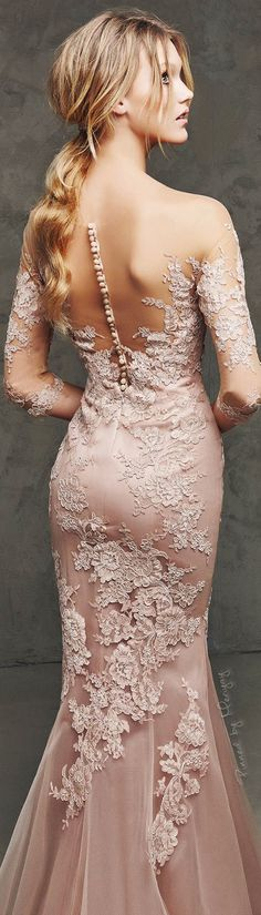 Blush wedding | blush wedding dress