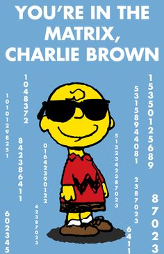 You're In The Matrix, Charlie Brown