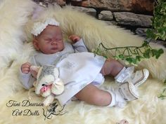 41a9da8473 Gorgeous long SOLE Sienna Rae Brace Blank kit NO COA - has small mark on  one arm - not a complete doll. Reborn BabiesBeautiful ...