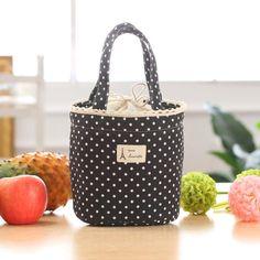 Precio más bajo bolsa de almuerzo Portable Fruta Bolsa de Almacenamiento Bolso de Las Mujeres un Bolso más fresco Bolsa de Almuerzo de Asas Contenedor Caja de almuerzo Para Los Niños adultos