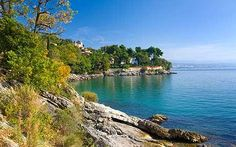 Croatia: Medveja beach, Lovran
