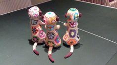 Mia the colourful crochet Meerkat PDF Pattern
