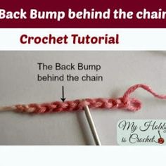 invisible seam crochet