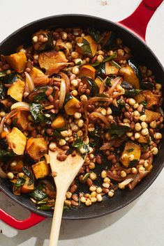 Three Sisters Bowl With Hominy, Tepary Beans and Squash Recipe - NYT Cooking - Dinner - American Indian Food Recipes, Vegan Recipes, Cooking Recipes, Ethnic Recipes, American Food, Native American Recipes, Three Sisters, Squash Recipe, Entrees
