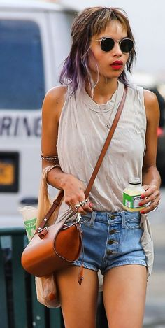 Meet our instagrammer of the week Zoe Kravitz. Check out our blog post on her over @ http://www.blondedge.com/blog/
