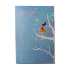 Cuaderno estrellas azul