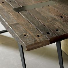 """Phoenix 72"""" Work Table in Desks   Crate and Barrel"""