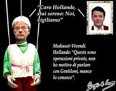 Gentiloni vigila su Mediaset-Vivendi
