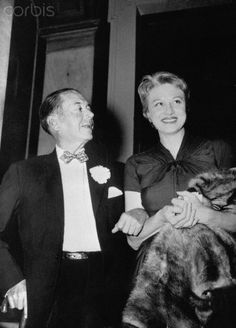 Cole and Linda Porter | Composer Cole Porter and Wife Linda - U1084495 - Rights Managed ...