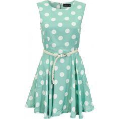 Maggie and Me Swing Polka Dot Dress. £45.00
