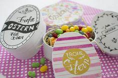 DIY Geschenkschachteln zu Ostern