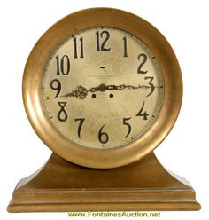 Large Chelsea Ship's Bell Mantle Clock
