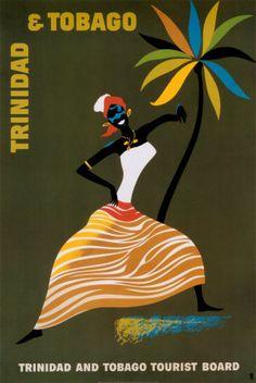 Trinidad and Tobago Print