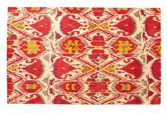 One Kings Lane - A Fashionable Foyer - Inigo Rug, Ivory/Strawberry