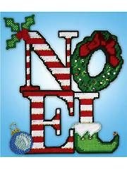 Holiday Plastic Canvas Patterns - Noel Plastic Canvas Kit