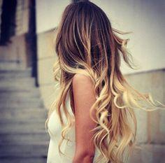Balayage Hair. I wish.