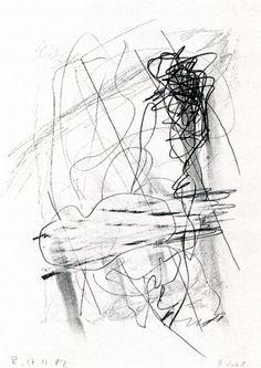 GERHARD RICHTER  Cloud, 17.11.1982  29.7 cm x 21 cm  Graphite on paper  Drawings CR: 82/26