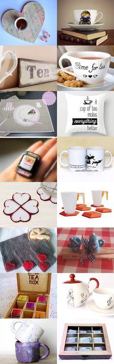 E' l'ora del the! by Giulia Baratella on Etsy--Pinned with TreasuryPin.com