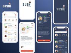 Self Web Guru, Become your own Web Guru! Restaurant App, Ui Design, Graphic Design, Sushi Restaurants, Mobile App Design, Interactive Design, Business Cards, Digital Marketing, How To Start A Blog