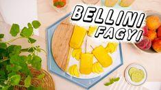 Bellini fagyi recept ◾ GYORS, KÖNNYŰ JÉGKRÉM KÉSZÍTÉS Tacos, Mexican, Cream, Ethnic Recipes, Food, Chowder, Meal, Essen, Hoods