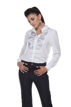 04c4c6d02cd91 Blouse 19806 White Shirts
