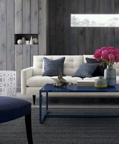 Azul Marino On Pinterest Navy Sofa Blue And White And Navy Couch