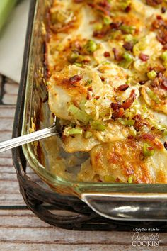 Potatoes Au Gratin a