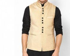 A Nehru jacket really makes a man, even those who aren't all that manly. This phenomenon has something to do with the truncated short collar. Throw in the 9-button design and the women go crazy.  When you come back down to earth you'll realise that your looks won't change because of this sleeveless jacket. Women probably won't like you much more, but hey, they may compliment you on your great fashion sense. Incremental improvements, right?