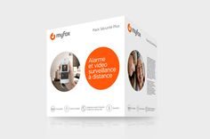 Myfox, Rebranding on Behance