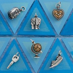 Summer Collection - Charms for every summer adventure #JamesAvery