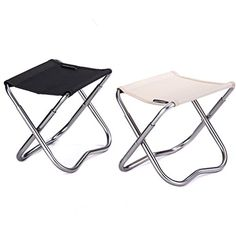 Folding Stool Folding Chair Camping Chair with a Carry Pouch Camping Furniture -- You can get more details by clicking on the image.(This is an Amazon affiliate link and I receive a commission for the sales)