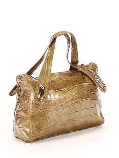 Liz Claiborne Solid Gold Shoulder Bag One Size - off Gold Shoulder Bags, Working Woman, Affordable Clothes, Liz Claiborne, Solid Gold, Product Launch, Handbags, Clothes For Women, Accessories