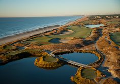 "Golf Digest's Toughest Courses 1. THE OCEAN COURSE, KIAWAH ISLAND, S.C. Par 5, 16th hole Golf Digest Panelist Comments ""I think the 17th hole is the toughest par 3 in the world. If the wind blows, watch out."" ""The course is really, really challenging for all levels of player. When the wind is blowing, par on many of the holes is an excellent score.""  ""If your idea of a good time is a fistfight, this is the place for you."" STEPHEN SZURLEJ"