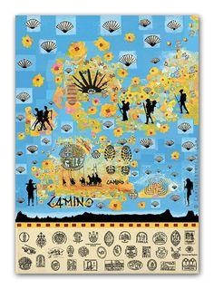"""El Camino de Santiago """"Camino Steps"""" - Fine Art Print by Marc Heffner"""