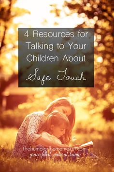 Talking to children about safe touch might just save you and them from heartache for years to come. So many children are molested at sleepovers, at friends' houses and even by their own relatives. It's never too early to begin talking to children about sa