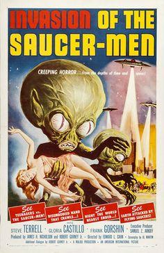 Invasion of the Saucer Men movie