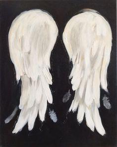 Angel Wings Painting