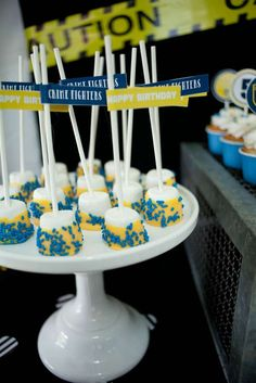 Policeman Birthday Party Ideas | Photo 8 of 28 | Catch My Party