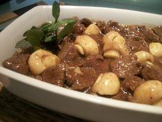 Imagem da receita Filé mignon ao molho madeira e champignon