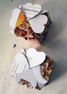 Veľká kolekcia šablón na valentínske darčekové balenia - Ostatné - Majstrovanie | Hobby portál