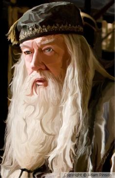 Albus Dumbledore by Adam Pinson on ARTwanted