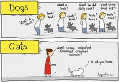 Know The Differences Between Your Pets