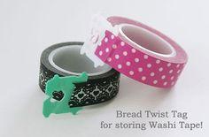 2washi-storage_bread - Genius idea!!!