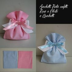 - Gifts For Love Baby Shower Favours, Baby Shower Tags, Sewing Projects For Beginners, Projects To Try, Shabby Chic Boxes, Baby Shawer, Fabric Gift Bags, Shabby Chic Christmas, Simple Gifts