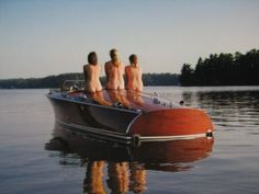 Girls Like Wood Boats