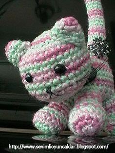 Amigurumi Kitty Pattern by Denizmum on Etsy, $7.00