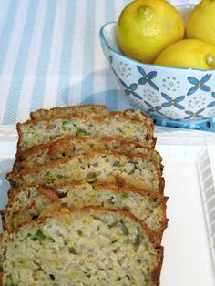 Edible Life in YYC: zucchini lemon loaf