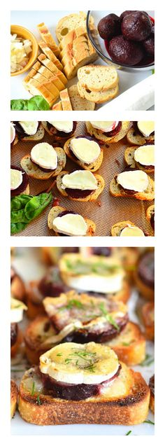 Beets and Brie and Cheese. Such a yummy appetizer! reluctantentertainer.com