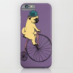 Pug Ride iPhone & iPod Case$35.00 https://society6.com/product/pug-ride_iphone-case?curator=alexxxxx